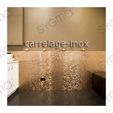 mosaique inox cr dence cuisine mosaique douche mixtion cuivre carrelage. Black Bedroom Furniture Sets. Home Design Ideas