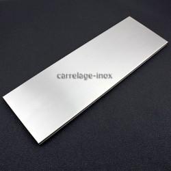 carrelage plinthe inox carreaux metal acier 1 piece LINEA