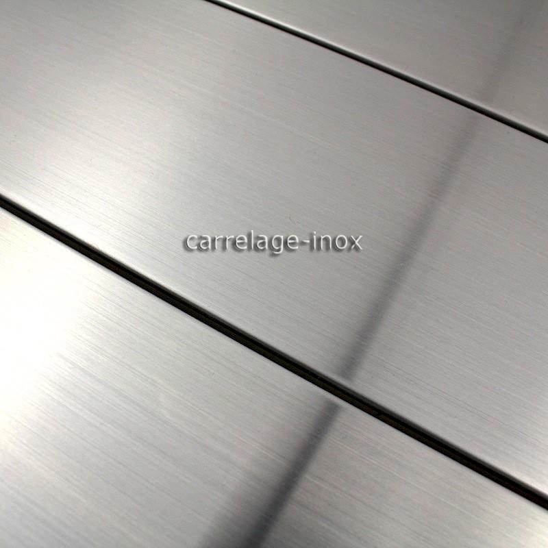 carrelage inox mosaique cr dence cuisine nova carrelage. Black Bedroom Furniture Sets. Home Design Ideas
