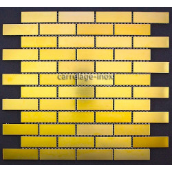 Mosaique inox carrelage faience credence ARGOS