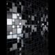 mosaic in stainless steel matte black and mirror backsplash kitchen Eska