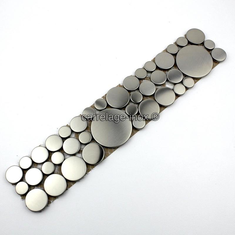 frieze stainless steel mosaic model loop carrelage. Black Bedroom Furniture Sets. Home Design Ideas