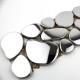 mosaico listelo acero inoxydable modelo galet