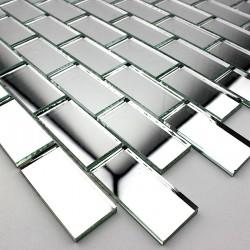 Miror mosaic shower mosaic bathroom, glass Cristal