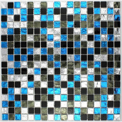 mosaico vidrio ducha cuarto de baño Strass Suki