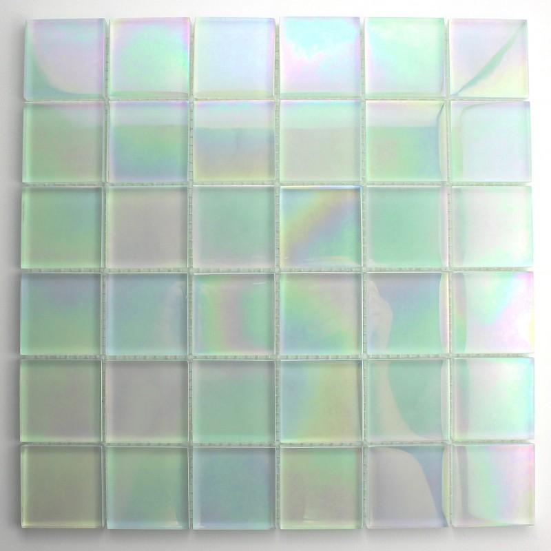 Mosaique verre cr dence cuisine verre mosa que douche murano - Mosaique de verre autocollante ...