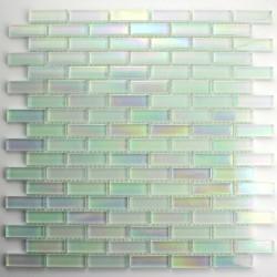 mosaïque verre salle de bain piscine hammam murano brick