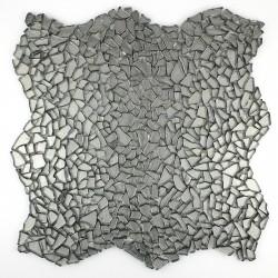 mosaïque verre salle de bain piscine hammam osmose chrome