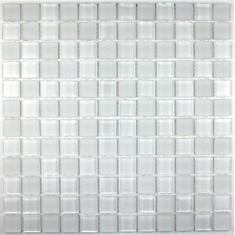 Mosaique verre salle de bain piscine hammam matblanc 23 - Mosaique pate de verre salle de bain ...