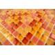 mosaïque verre douche salle de bain crédence cuisine tonga