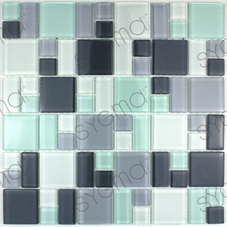 mosaique verre cr dence cuisine verre mosa que douche. Black Bedroom Furniture Sets. Home Design Ideas