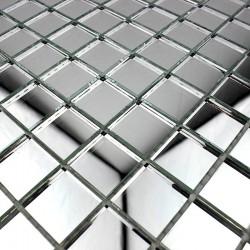espejo mosaico vidrio Optic neutre