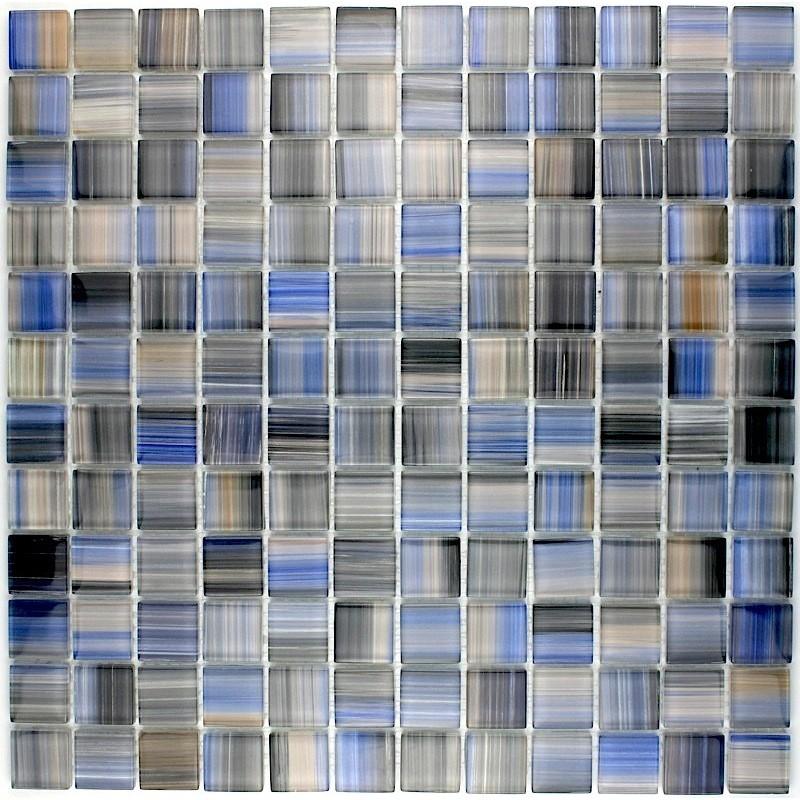 Mosaique verre cr dence cuisine verre mosa que douche for Mosaique carrelage verre