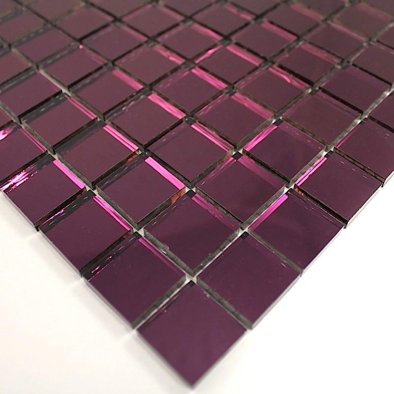 carrelage miroir mural salledebain reflect violet carrelage. Black Bedroom Furniture Sets. Home Design Ideas