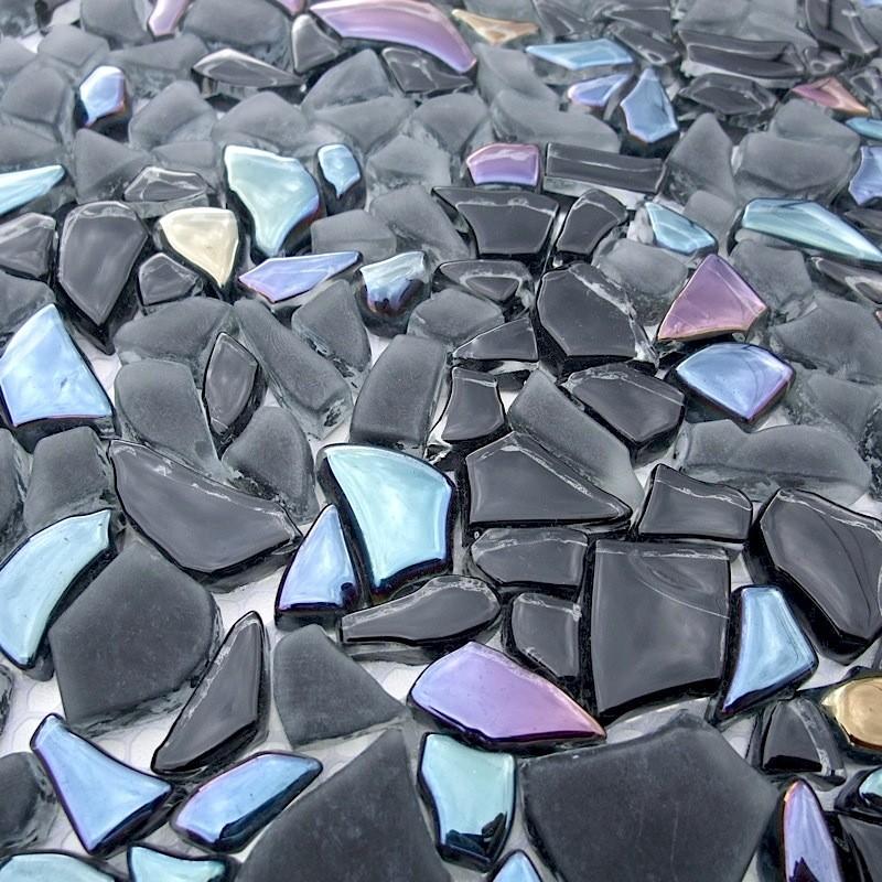 mosaïque verre, crédence cuisine verre, mosaïque douche - Plaque Mosaique Salle De Bain