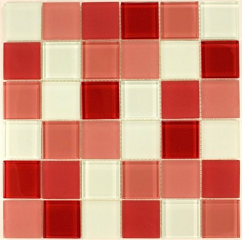 Carrelage carrelage de verre pour cuisine carrelage de for Carrelage mural rouge