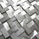 Plaque mosaique aluminium carrelage cuisine crédence Sekret