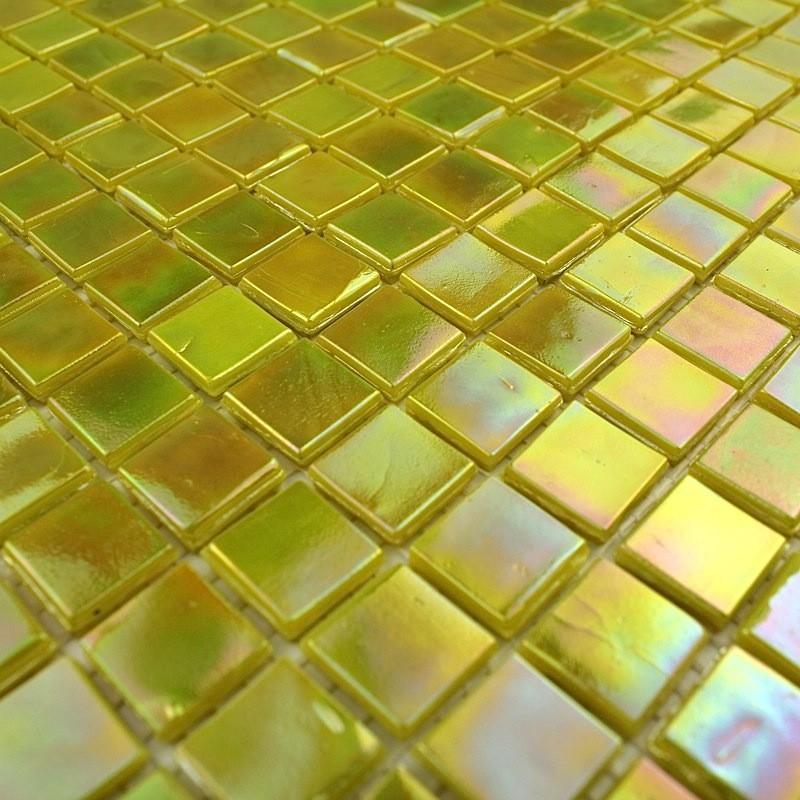 Carrelage douche mosa que douche p te de verre rainbow for Mosaique carrelage verre
