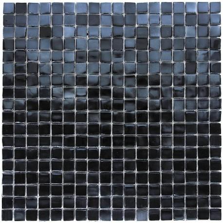 Mosaique en pate de verre rainbow carbone carrelage for Carrelage mosaique pate de verre