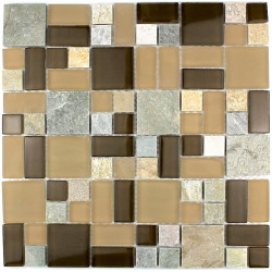splashback kitchen tiles kitchen mosaic glass and stone thema-mar