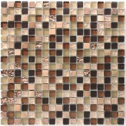 Glass and stone mosaic tile mvp-ottawa