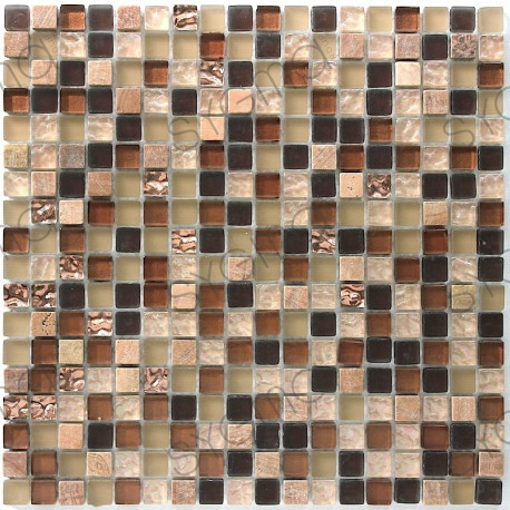 Glass and stone mosaic tile Ditto