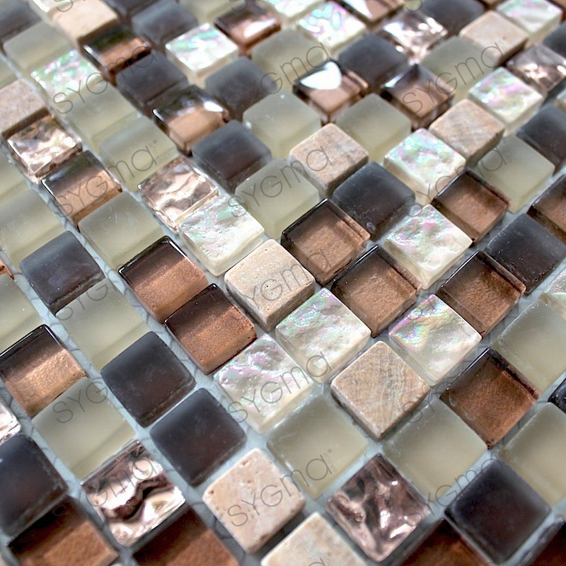 Glass and stone mosaic tile mvp ottawa carrelage for Carrelage stone