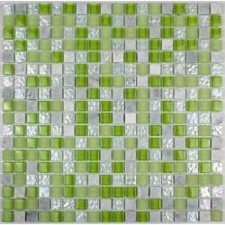 carrelage salle de bain carrelage douche mosaïque verre et pierre samba