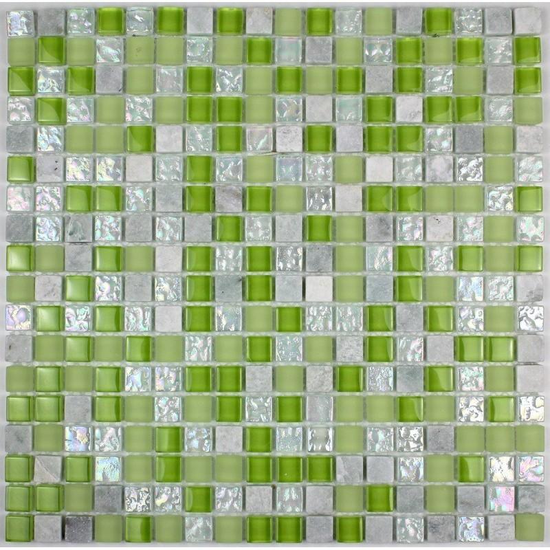 Carrelage mosaique pour mur et sol douche et salledebain for Carrelage 1m 1m