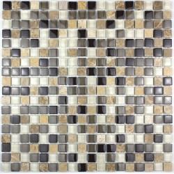 carrelage salle de bain carrelage douche mosaïque verre et pierre maggiore