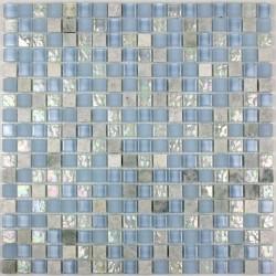 carrelage salle de bain carrelage douche mosaïque verre et pierre lagon