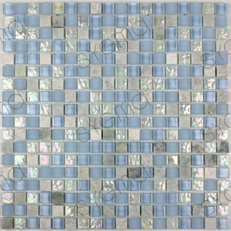 Mosaic floor and wall bathroom Acana