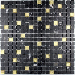tile shower tile shower with glass and stone Mandala Gold
