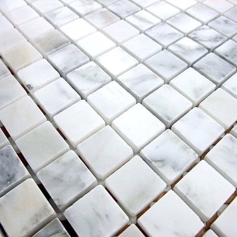 Mosaique De Marbre Douche Et Salle De Bain Mp Opale