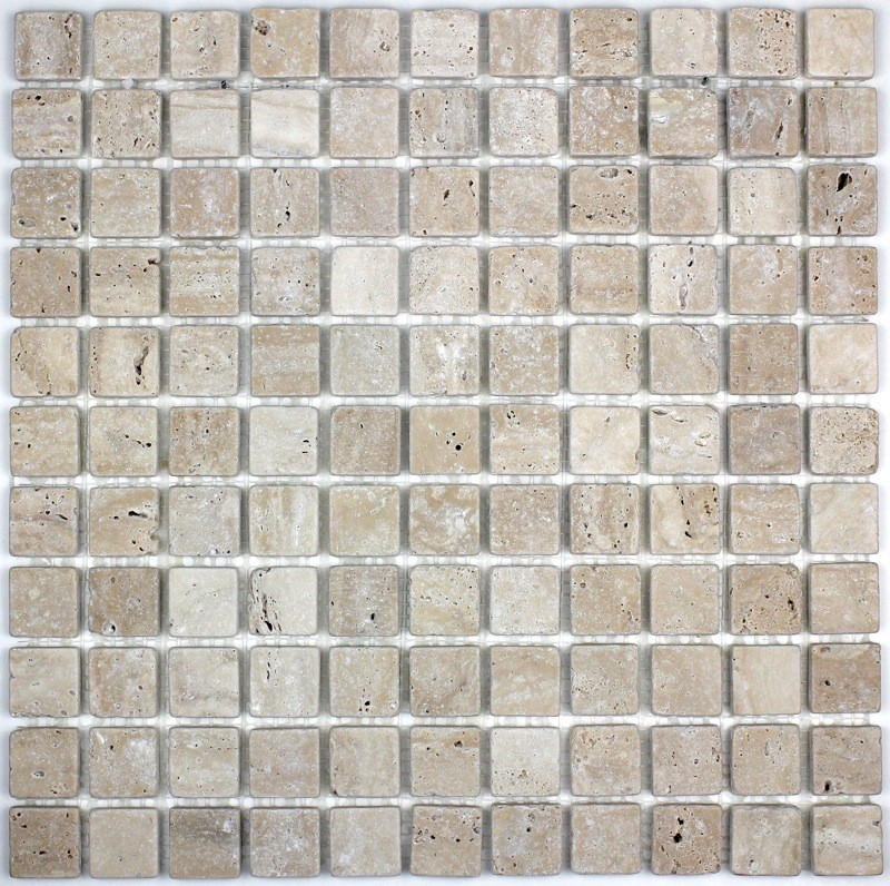 douche italienne mosaique pierre sol et mur salle de bain ...