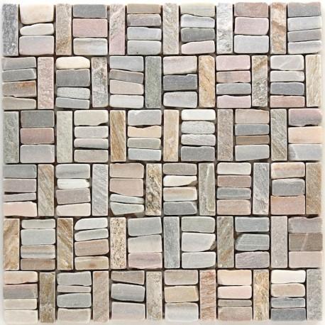 mosaique pierre sol et mur douche et salle de bain mp-gombo ...