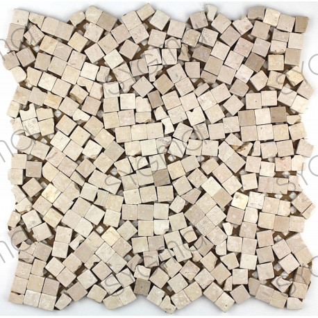 Stone mosaic marble tile Sultan Beige