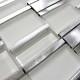 Mosaique aluminium carrelage 1 plaque BLEND GRIS