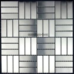 Mosaico en Acero Inoxidable modelo 1M2 DUPLICA 64