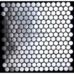 Mosaico en Acero Inoxidable modelo 1M2 ROUND 20