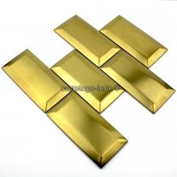 carrelage metro gold