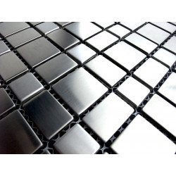 sample stainless steel mosaic rectangular 74
