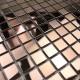 mosaique inox crédence cuisine mosaique douche mixtion cuivre