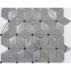 muestra mosaico de acero por cocina metro miroir