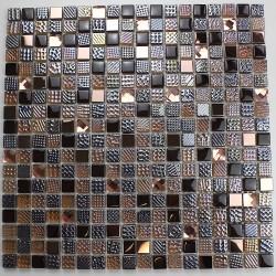 Mosaico de vidrio par baño o una ducha mv-inesse