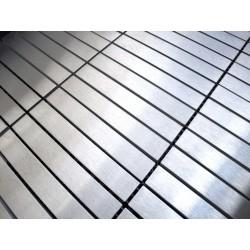muestra mosaico de acero modelo loka