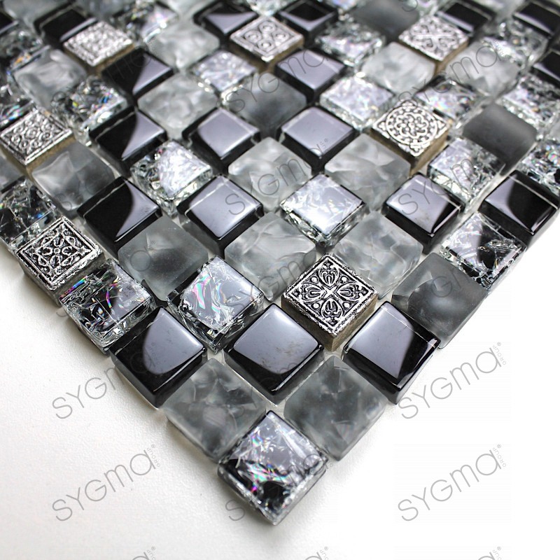 Tile mosaic stone and glass cheap mvp shiro carrelage for Carrelage stone