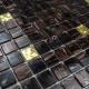 Azulejos mosaicos de vidrio para cocina y bano goldline-vog