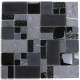 Mosaic stone and glass floor and wall mvp-shadow