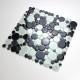 Azulejo mosaico guijarro de vidrio par pared y suelo modelo mv-ronda